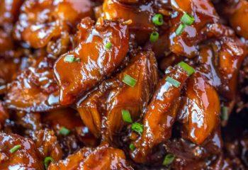 Sweet Bourbon Chicken (4 servings)