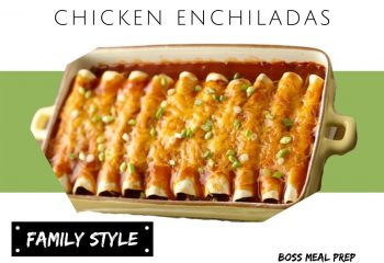 Chicken Enchiladas (Family Style)