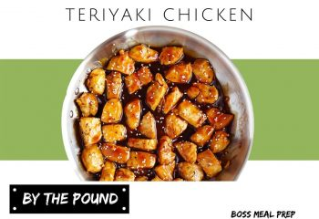 Teriyaki Chicken (4 servings)