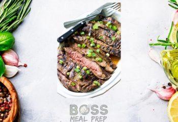 Sweet Bourbon Steak (4 servings)