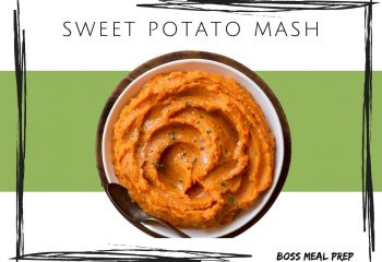 Sweet Potato Mash (4 servings)