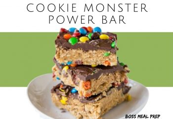 Cookie Monster Power Bar