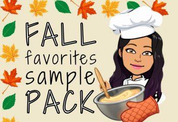 Fall Favorites Sample Pack